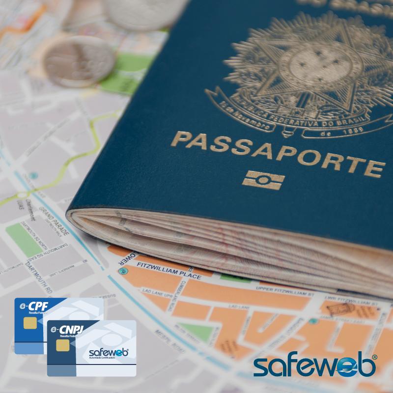 Emissao do Passaporte ja esta sendo feita com Certificação Digital