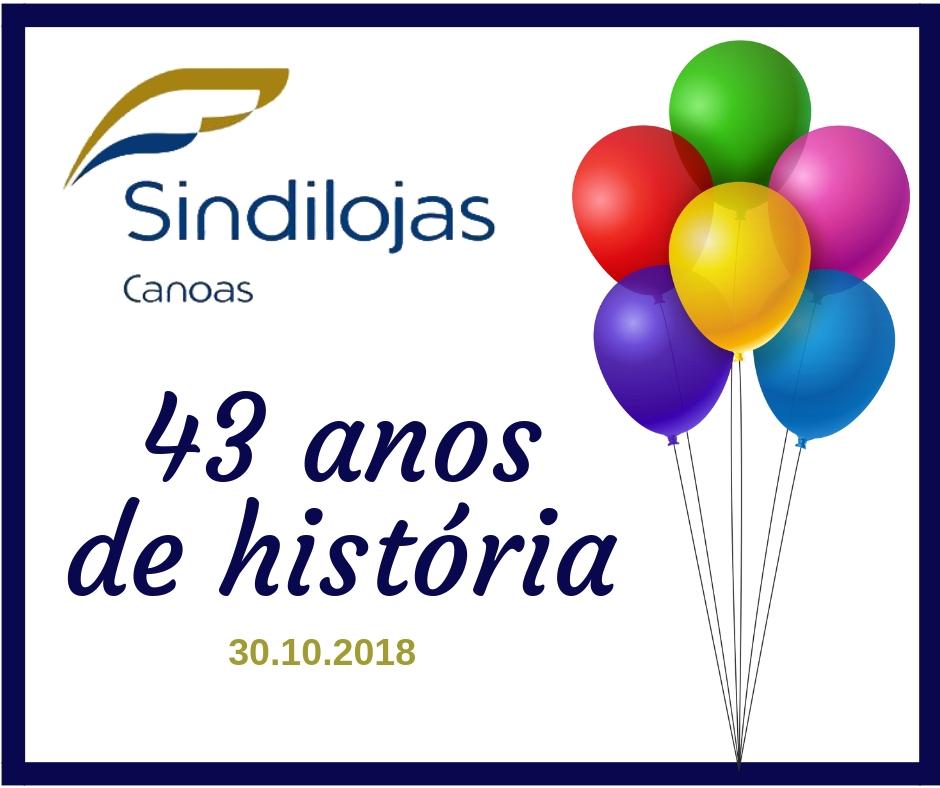 43 anos de história