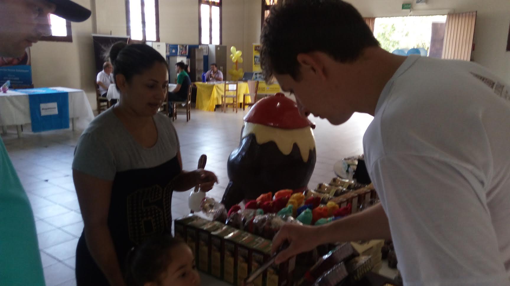 A Florybal com os seus deliciosos chocolate de Gramada presente na 1ª Edição da Rede de Descontos